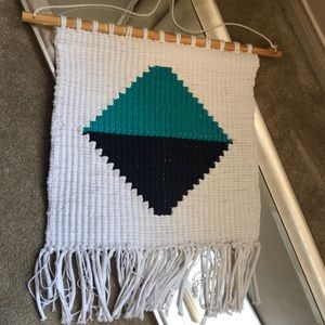Other - Large Macrame Wall Hanging with geometric design